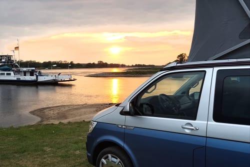 Kampeerbus VW Pütter Bulli in Plau am See huren van particulier