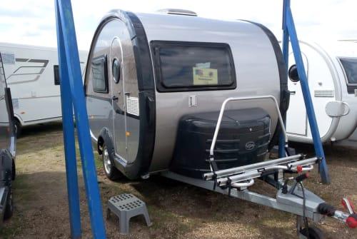 Caravan T@b  Regentropfen in Damshagen huren van particulier
