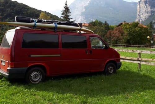 Kampeerbus VW T4 Wochenendbusi in Dippoldiswalde huren van particulier