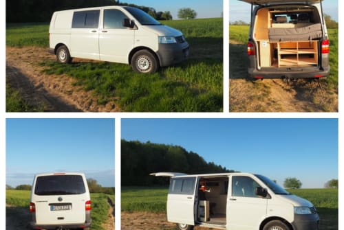 Kampeerbus VW myBulli in Nußloch huren van particulier