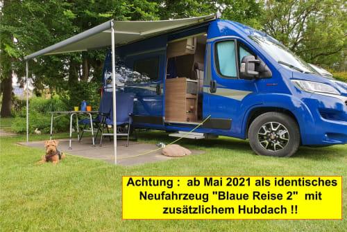 Buscamper Knaus Blaue Reise 1 in Geltendorf huren van particulier