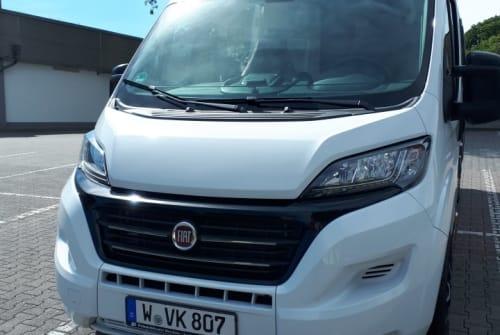 Buscamper Challenger Wamba in Wuppertal huren van particulier