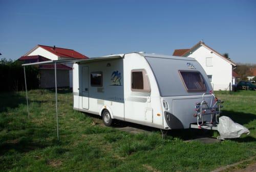Caravan Knaus Knaus Südwind in Mandelbachtal huren van particulier