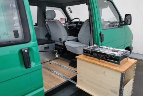 Kampeerbus VW T4  Kai Uwe in Neuhof huren van particulier