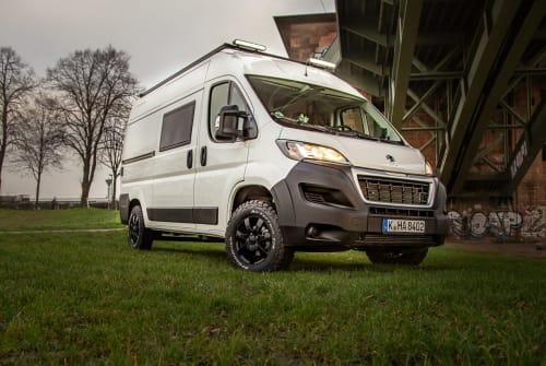 Buscamper Peugeot  Pamir in Kiel huren van particulier