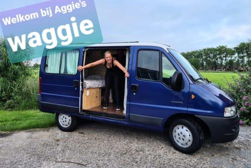 Kampeerbus Citroën Aggies waggie  in gemeente Groningen huren van particulier