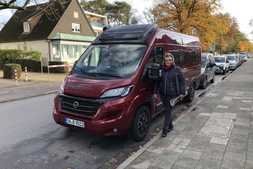 Buscamper Fiat Betty 620 in Gevelsberg huren van particulier