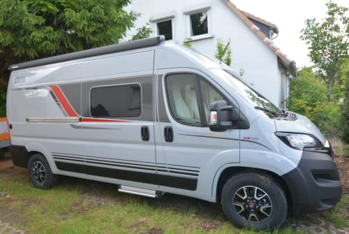 Buscamper Bürstner Gary in Burgdorf huren van particulier