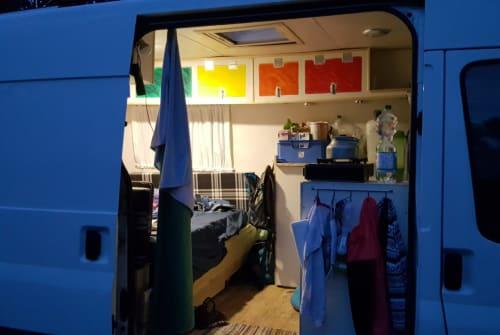 Kampeerbus Ford Die Fladders in Sandhausen huren van particulier