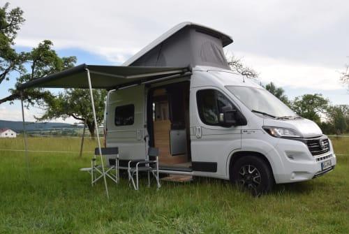 Buscamper Fiat Ducato HymerCar AyersRock in Oberthulba huren van particulier