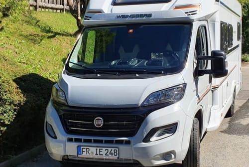 "Halfintegraal Weinsberg ""Linus""-Mobil in Freiburg im Breisgau huren van particulier"