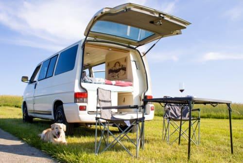 "Kampeerbus VW T4 ""Knubbel"" in Krems an der Donau huren van particulier"