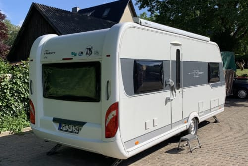 Caravan Hobby  Hobbysmobile in Hamburg huren van particulier