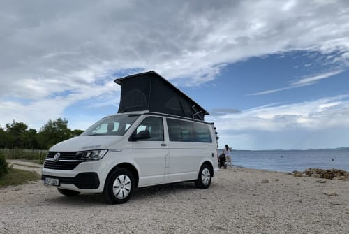 Kampeerbus VW Hostel in München huren van particulier