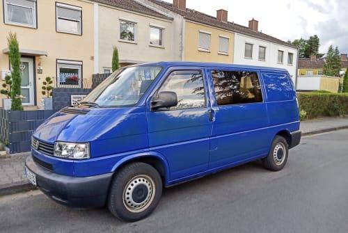 """Kampeerbus Volkswagen VW T4 """"Blue"""" in Frankfurt am Main huren van particulier"""
