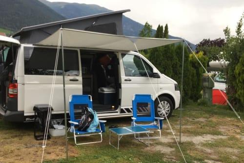 Kampeerbus VW VeldmanDibbets in Koekange huren van particulier
