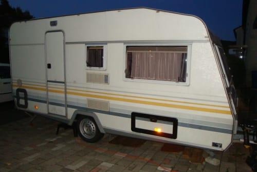Caravan Knaus das Tu Tu Mobil in Sindelfingen huren van particulier