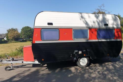 Caravan Corsar Wohnwagenbau  Hippie Happy  in Nümbrecht huren van particulier