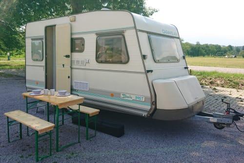 Caravan Caravelair Bamba in Durbach huren van particulier