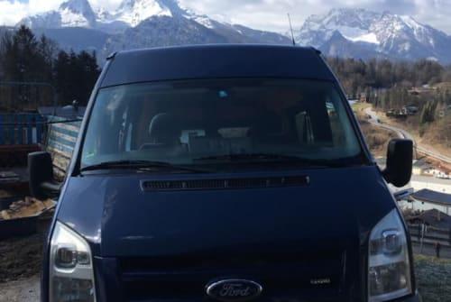 Buscamper Ford BrummBrumm in Berchtesgaden huren van particulier