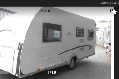 Caravan Bürstner Snoopy in Waakirchen huren van particulier