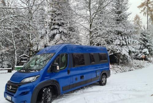 Buscamper Fiat Ducato TravelHeld in Ettenheim huren van particulier