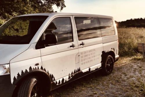 Kampeerbus VW Kleiner Onkel in Bad Waldsee huren van particulier