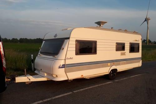 Caravan Hobby Radewald in Viöl huren van particulier