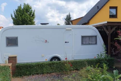 Caravan Tabbert Fritz in Heidesee huren van particulier