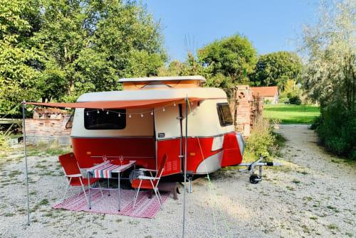 Caravan Hymer Gina Linetti in Lautrach huren van particulier