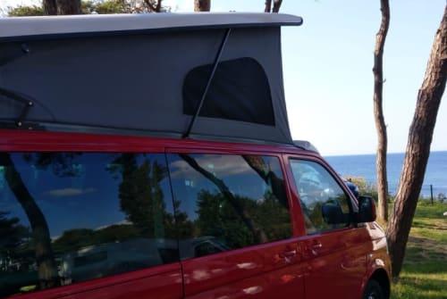 Kampeerbus VW Airloko in Stelle huren van particulier