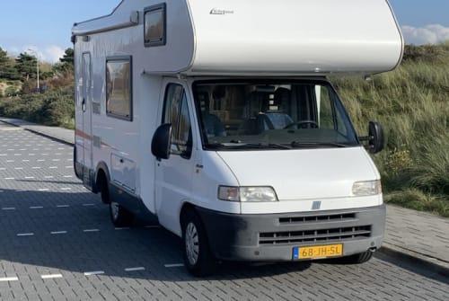 Alkoof Eifelland Hangover in Katwijk huren van particulier
