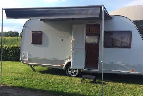 Caravan Tabbert  Wohnwagen Tabbert  in Minden huren van particulier
