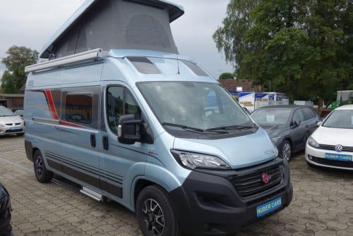 Buscamper Bürstner Freedom in Ravensburg huren van particulier