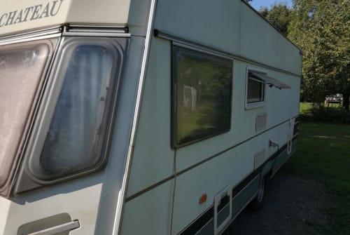 Caravan Chateau Caravans s' Schlössje in Stadecken-Elsheim huren van particulier