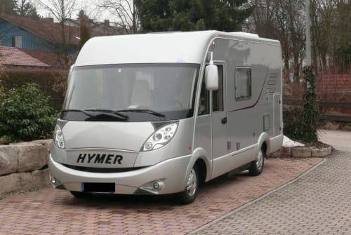 Integraal Hymer Hymer Wohnmobil in Feldkirchen-Westerham huren van particulier