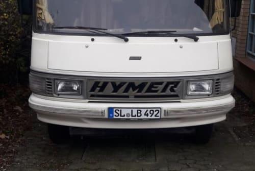 Integraal Hymermobil Herrmann in Handewitt huren van particulier
