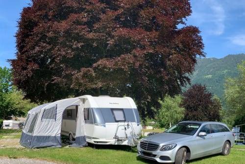 Caravan Hobby Familiencamper in Leingarten huren van particulier