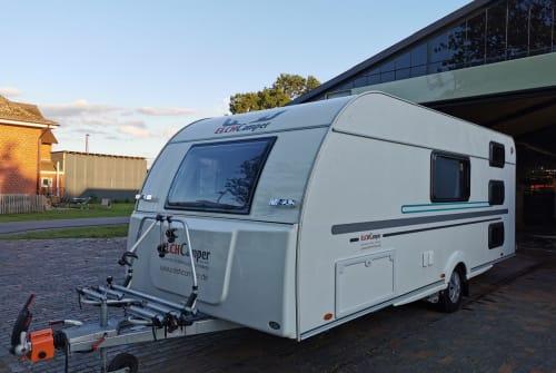 Caravan Adria Aviva 563 PT² in Bötersen huren van particulier
