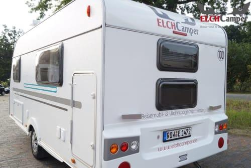 Caravan Adria Aviva 472 PK² in Bötersen huren van particulier