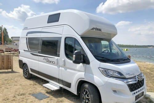 Buscamper Pössl 2WIN Vario XL in Bötersen huren van particulier