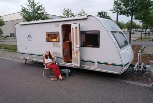 Caravan Knaus Tabbert Mr. White in Falkensee huren van particulier