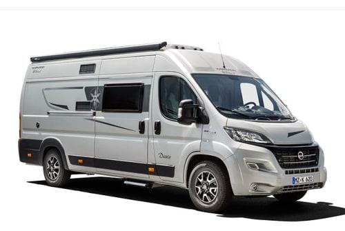 Buscamper Fiat Carado Neue Luxusmobil in Arnhem huren van particulier