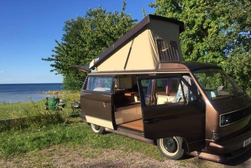 Kampeerbus VW  Campi in Braunschweig huren van particulier