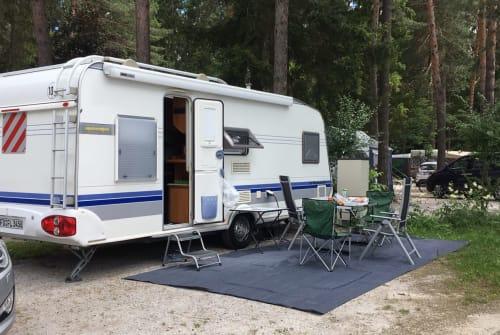 Caravan Hobby Familia in Gersfeld huren van particulier