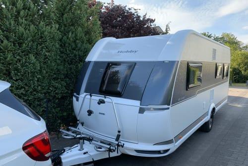 Caravan Hobby Sixpack deLuxe in Kleve huren van particulier