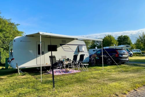 Caravan Hymer ERIBA 560 Family in Paderborn huren van particulier