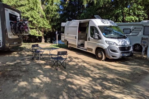 Buscamper Fiat Trude in Bruchsal huren van particulier