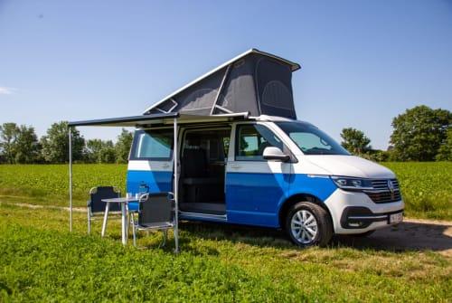 Kampeerbus VW Reli in München huren van particulier