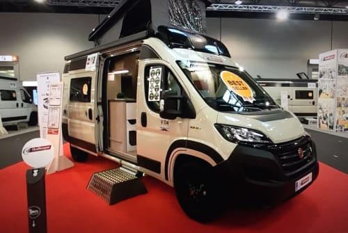 Buscamper Challenger  Vany 2021 in Schöpstal huren van particulier